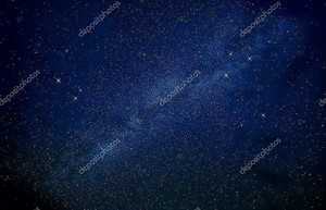 Изображение на фоне ярких звёзд