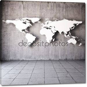 абстрактная мировая карта