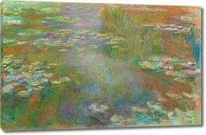 Моне, Пруд с водяными лилиями, 1919