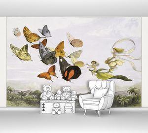 Королева фей в карете из бабочек