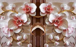 Керамический цветочный декор