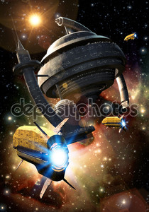 Космический корабль и станция