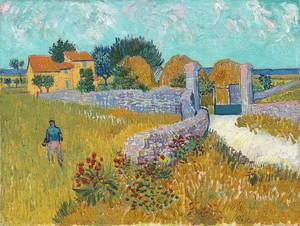 Сельский дом в Провансе, Ван Гог, 1888 год