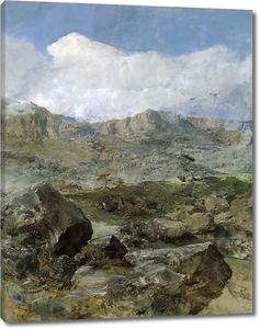 Доминго Маркес Франсиско. Большой пейзаж (Арагон)