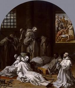 Висенте Кардучо. Тюремное заключение и смерть десяти членов картезианского монастыря в Лондоне