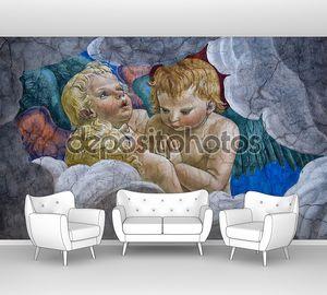 ангелы средневековая живопись