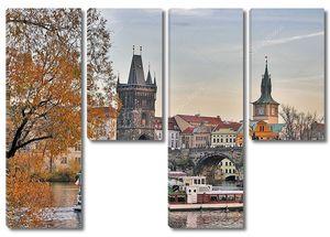Осень в Праге