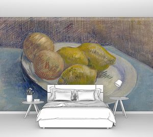 Ван Гог. Натюрморт с лимонами на тарелке