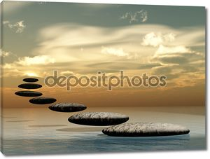 Путь форме zen Камень солнца