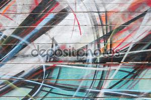 фон граффити.