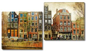 Amsterdam - retro styled picture