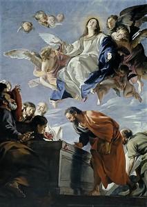 Хуан Мартин Кабальеро. Успение Пресвятой Богородицы 2