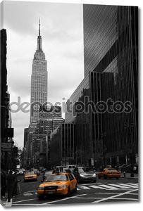 35-я стрит в желтом, Нью-Йорк