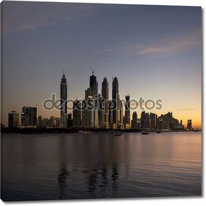Дубай Марина на закате