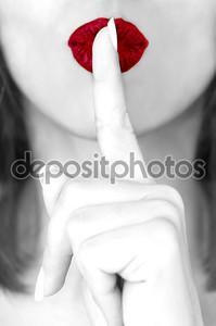Красные губы Тсс