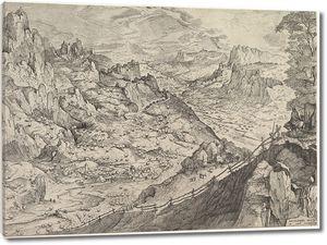 Брейгель. Большой альпийский пейзаж