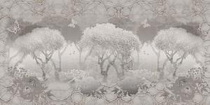 Пейзаж фрескогравюра