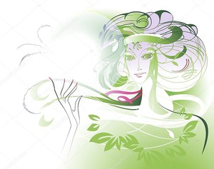 Зеленая леди
