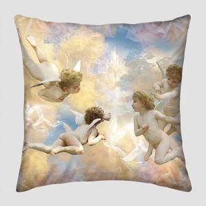 Фреска с ангелами в небе