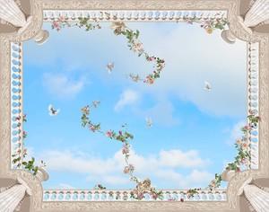 Небо и голуби