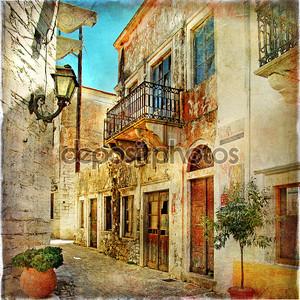 Живописных улочек Греции - Художественная фотография