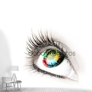 Большой глаз.