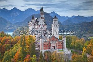 Замок Нойшванштайн, Германия.