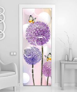 Головки фиолетовых цветов