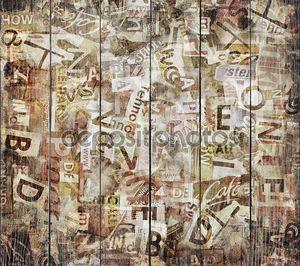Текстурированный фон старой газеты