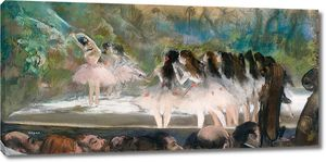 Дега - Балет в Парижской опере