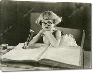 Будущий писатель