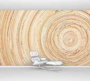 Текстура кругов древесины