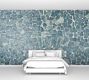 Красивый синий каменный фон
