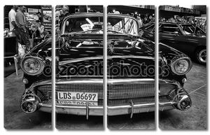 персональный роскошный автомобиль buick Специальный Ривьера купе, (черно-белая)