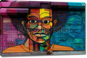 Искусство граффити в Гарлеме, Нью-Йорк