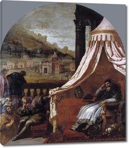 Кардучо Висенте. Видение святого Юга, епископа Гренобля