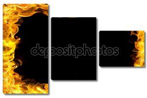 граница огнем с огнем