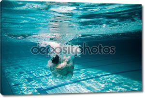 Прыжок, которую я воды