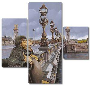 Мост с фонарями