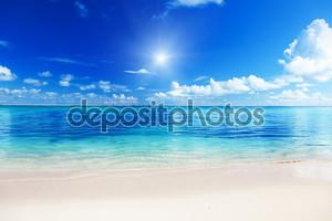 Пляж у Карибского моря