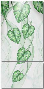 Листья в дымке