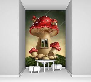 Фантастический грибной домик