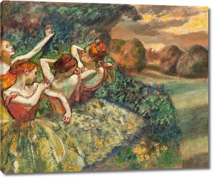 Дега - Четыре танцовщицы