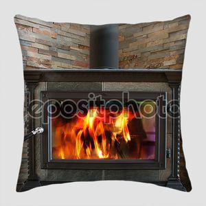 деревянная печь