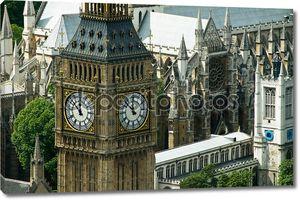 башня Биг Бен в Лондоне, Соединенное Королевство