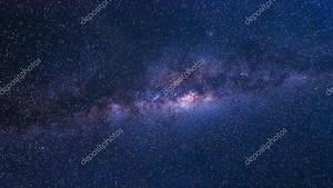 Красочные пространстве shot галактики Млечный путь с звездами и космической пыли