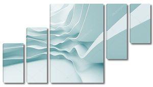 Абстрактная архитектура 3D фон