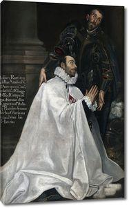 Эль Греко (последователь). Хулиано Ромеро и его небесный покровитель