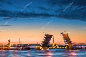 Отключение от Дворцового моста