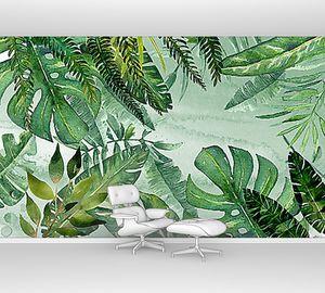 Разнообразие пальмовых листьев